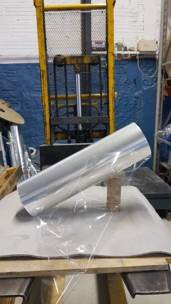 Bobina de poliéster para plastificação