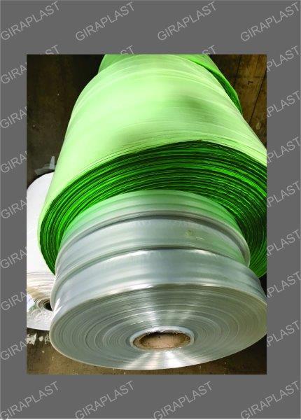 Bobinas plásticas tubular para embalagens