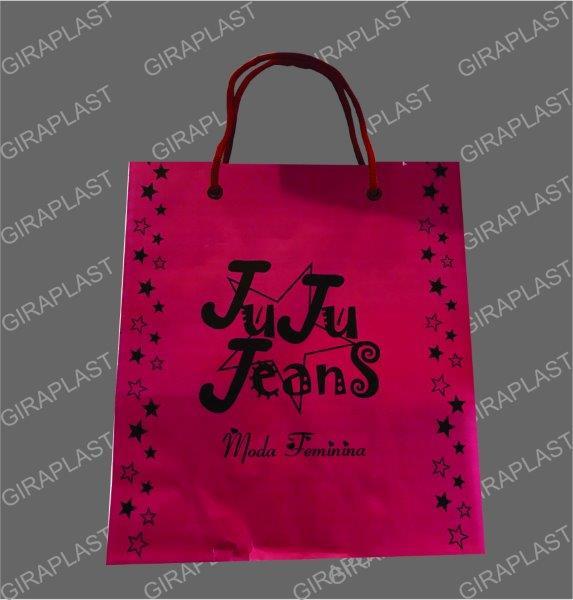 Empresa de sacolas de papel personalizadas