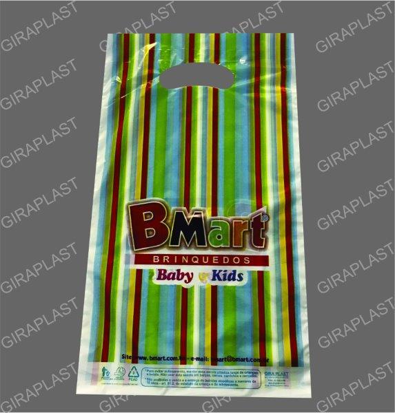 Empresa de sacolas plásticas personalizadas