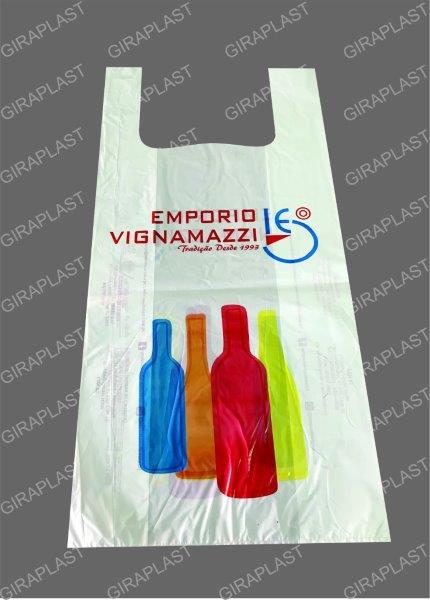 Fábrica de sacolas plásticas impressas