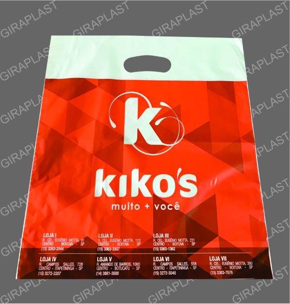 Fábrica de sacolas plásticas personalizadas