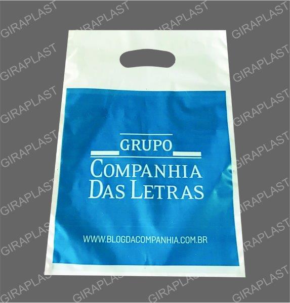 Fábrica de sacolas plásticas personalizadas sp