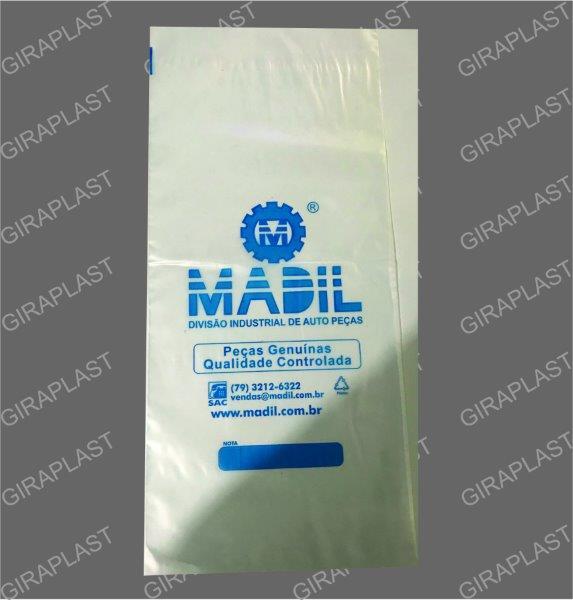 Fabricante de sacos plásticos