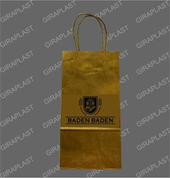 Sacola de papel personalizada para loja