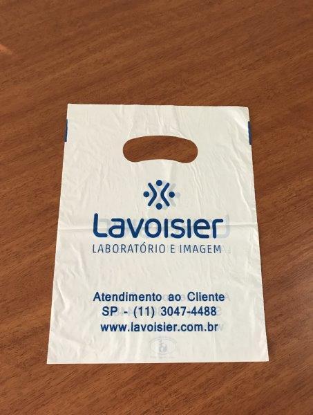 Sacola plástica oxi biodegradável