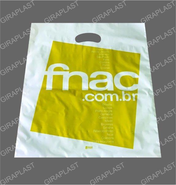 Sacolas plásticas personalizadas para lojas