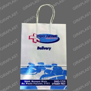 Sacolas promocionais de papel